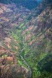 Beautiful Na Pali Coast on the Hawaii, Kauai island Stock Photography