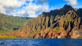 Beautiful Napali Coast Mountains Stock Images