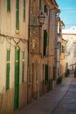 Beautiful narrow old street. Royalty Free Stock Photos