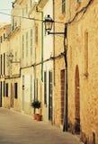Beautiful narrow old street. Royalty Free Stock Photography