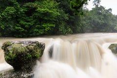 Beautiful natural canyon and amazing waterfall Stock Photos