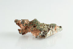 Beautiful and Natural Copper mineral. For industries Royalty Free Stock Photo
