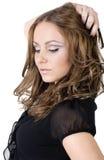beautiful natural girl Royalty Free Stock Image