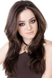Beautiful natural girl Royalty Free Stock Images