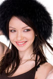 Beautiful natural girl Stock Image