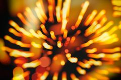 Beautiful natural gold fireworks background, aesthetic and entertainment purposes, art. Suitable for a backdrop for all Stock Photography