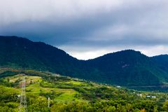 Beautiful natural Khao Kho stock photo