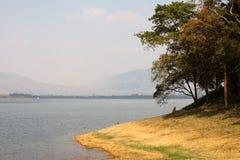 Beautiful natural lake. Beautiful natural Bang Pra Chonburi Thailand local lake Stock Photos
