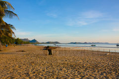 Beautiful natural landscape sea. And beach Stock Photography