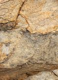 Beautiful natural layers of cracked rock texture natural background. Stock Photography