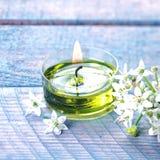 Beautiful natural organic spa background Stock Photos