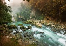 Pools in Guatemala Royalty Free Stock Images
