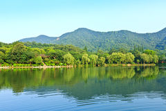 Beautiful natural scenery in hangzhou Royalty Free Stock Images