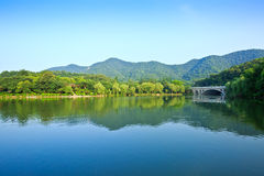 Beautiful natural scenery in hangzhou Royalty Free Stock Photos