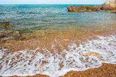 Beautiful natural sea scape Stock Images