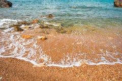 Beautiful natural sea scape Stock Image
