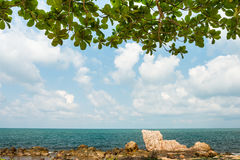 Beautiful natural sea scape Royalty Free Stock Photos