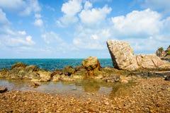 Beautiful natural sea scape Stock Photos