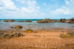 Beautiful natural sea scape Stock Photography