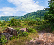 Beautiful Natural View at Khlong Yai, Thailand. Beautiful Natural View at Khlong Yai province, Thailand Royalty Free Stock Photos