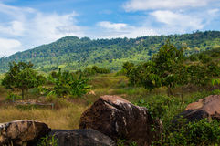 Beautiful Natural View at Khlong Yai, Thailand. Beautiful Natural View at Khlong Yai province, Thailand Royalty Free Stock Images