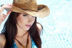 Beautiful natural woman Royalty Free Stock Photography