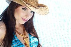 Beautiful natural woman Royalty Free Stock Photos