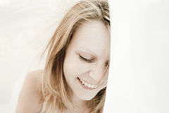 Beautiful, natural woman portrait Royalty Free Stock Photography