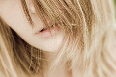 Beautiful, natural woman portrait Royalty Free Stock Photos