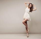 Beautiful natural woman Royalty Free Stock Images
