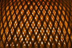 Beautiful natural wood weave for abstract texture background. Stock Photography