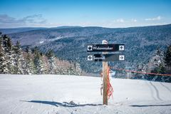 Free Beautiful Nature And Scenery Around Snowshoe Ski Resort In Cass Stock Images - 116367234