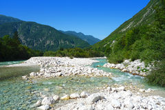 Beautiful nature in Bovec Royalty Free Stock Photos