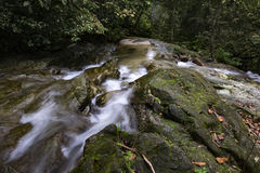 Beautiful in nature cascading water stream at Kanching waterfall  located in Malaysia Stock Images
