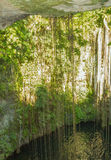 Beautiful nature cave and underground lake, Mexico Royalty Free Stock Photo