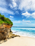 Coast of Bali Island, Indonesia Royalty Free Stock Photography
