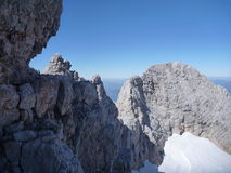 Beautiful nature at hoher dachstein in austria Stock Photography