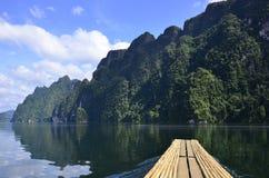 Beautiful nature Island Dam Royalty Free Stock Photos