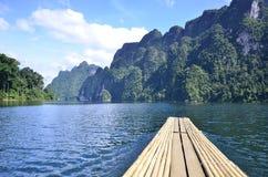 Beautiful nature Island Dam Royalty Free Stock Images