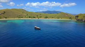The beautiful nature of Komodo national park royalty free stock image