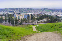Beautiful nature landscape on Ascot Hills Park Royalty Free Stock Photo