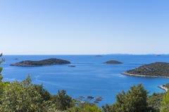 Beautiful nature and landscape photo of Croatia and Adriatic Sea Royalty Free Stock Photo