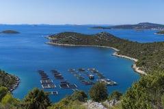 Beautiful nature and landscape photo of Croatia and Adriatic Sea Stock Image