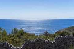 Beautiful nature and landscape photo of Croatia and Adriatic Sea Royalty Free Stock Image