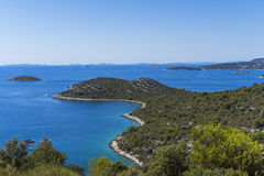 Beautiful nature and landscape photo of Croatia and Adriatic Sea Stock Photography
