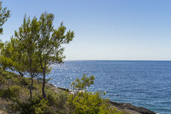 Beautiful nature and landscape photo of Croatia and Adriatic Sea Royalty Free Stock Images
