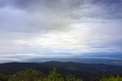 Moncham mountains at Chiangmai Thailand Stock Images