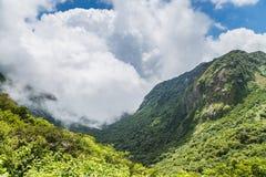 Beautiful nature of mount Unzen in Kumamoto, Japan. royalty free stock photography