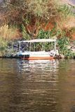 Nile River Africa. Beautiful nature of Nile River at Aswan, Egypt Stock Image