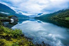 Beautiful Nature Norway. Royalty Free Stock Image